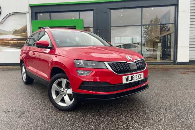 SKODA Karoq SUV 1.0 TSI (115ps) SE *LED interior light pack*
